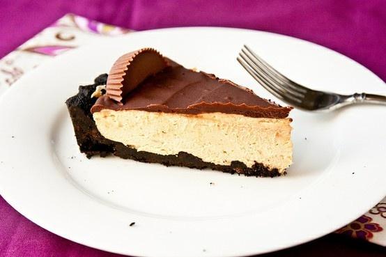 Peanut butter cup tart - | YUM | Pinterest
