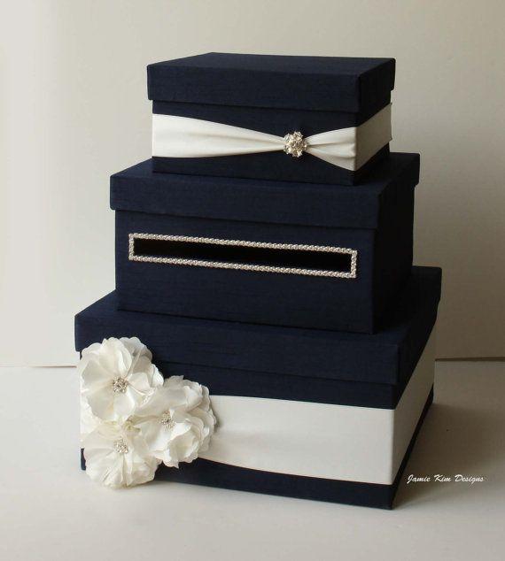 Wedding Card Box Money Box Gift Card Holder by jamiekimdesigns, USD109 ...