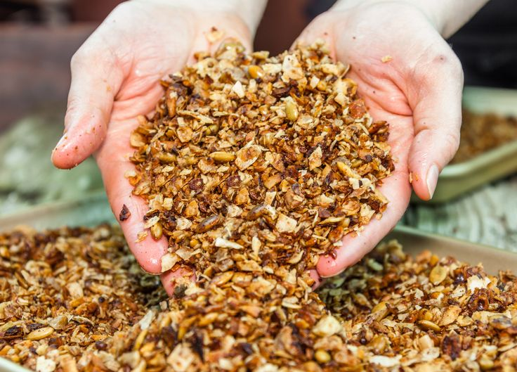 Date Sweetened Grain-Free Granola | Favorite Recipes | Pinterest