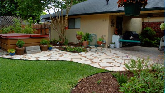 Xeriscaping Backyard Landscaping Ideas : xeriscape yard designyard, which won awards for xeriscaping