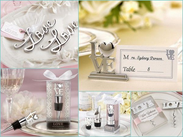 Love Wedding Favors
