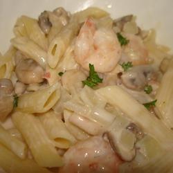 Peppered Shrimp Alfredo | Food | Pinterest