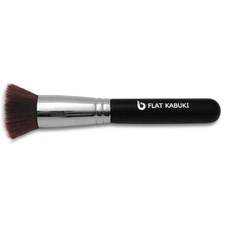 how to clean a kabuki makeup brush