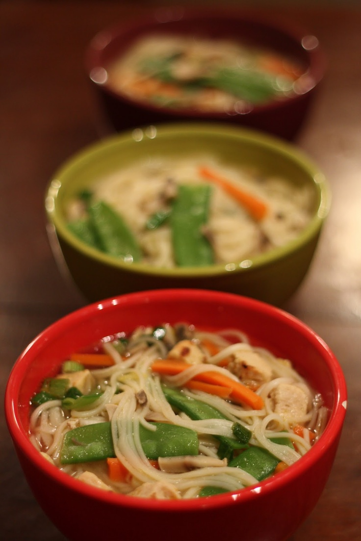 Miso Udon Soup | The Flourishing Foodie | Food | Pinterest