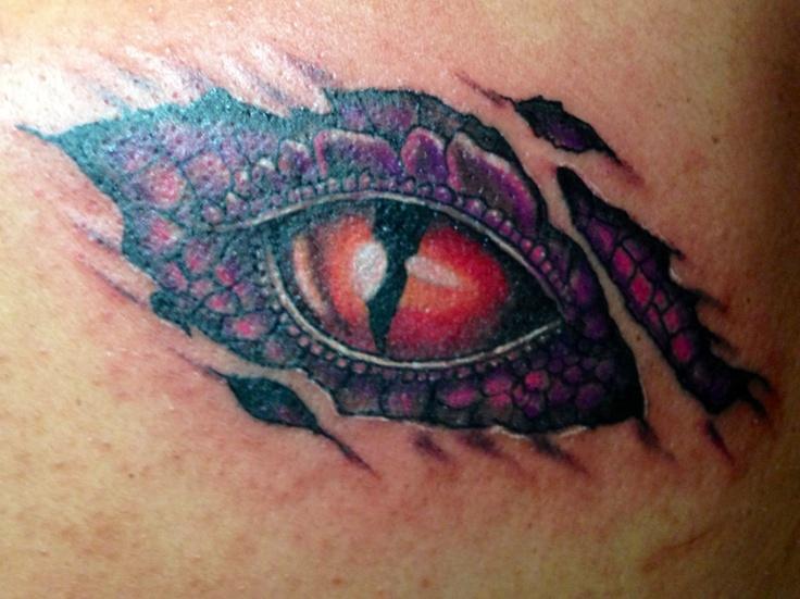 dragon eye tattoo designs