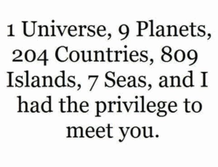 Mi Love You Quotes : Love,Seas,Universe,Planets