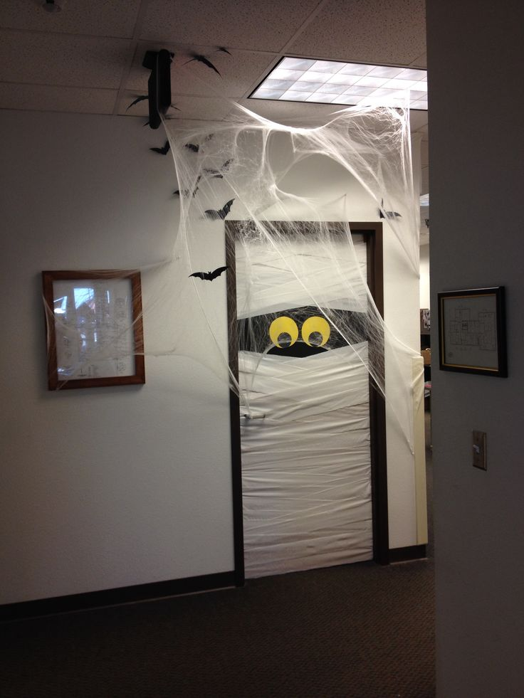 Halloween decoration at work!  halloween  Pinterest ~ 111615_Halloween Decorating Ideas At Work