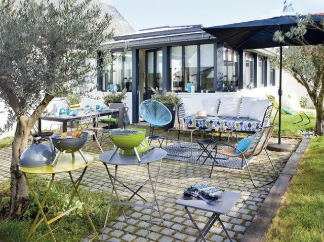 Amenagement terrasse  Jardins & terrasses  Pinterest