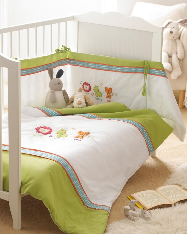 Jungle nursery blankets : Safari friends nursery bedding