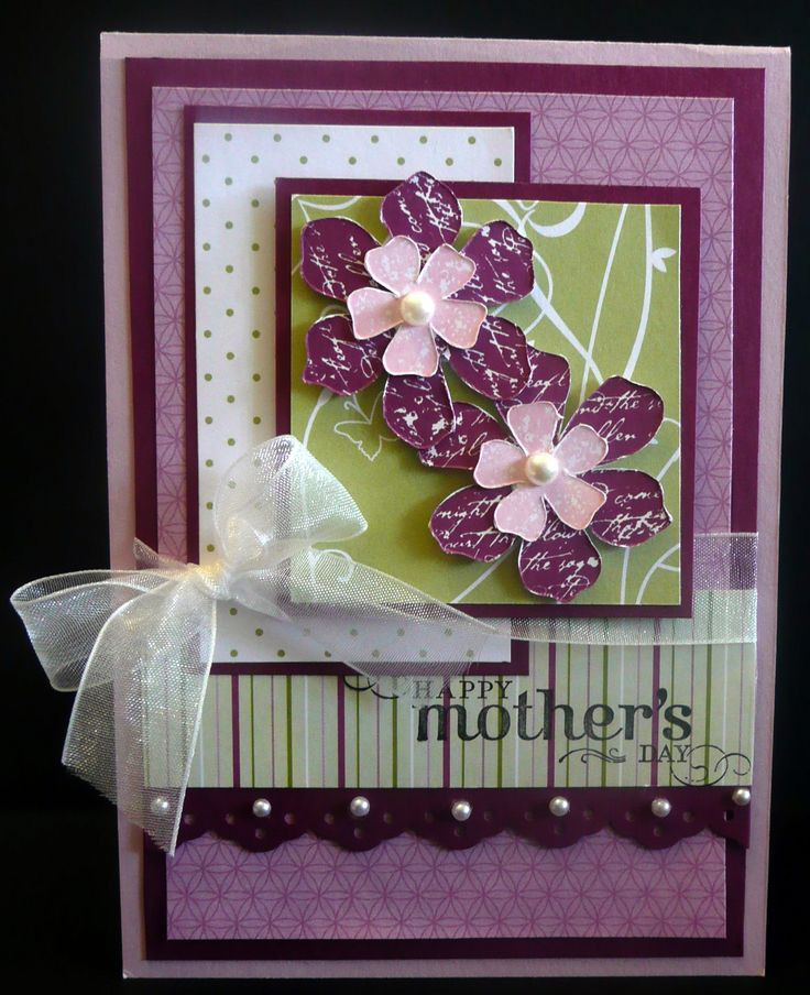 Stampin up idea cards pinterest