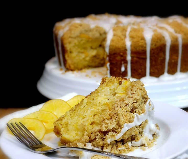 Meyer Lemon Coffee Cake | A Taste Odyssey | Pinterest