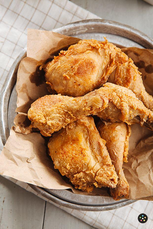 Buttermilk Fried Chicken Recipe   Recipes   Pinterest