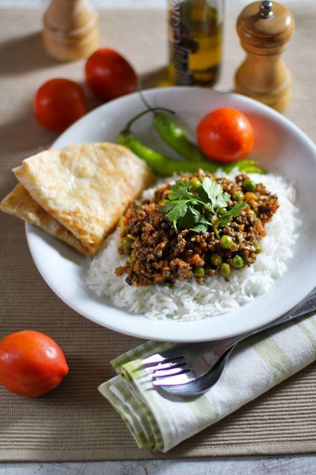 Kheema: Ground Beef with Peas | Wednesday Fresh Foods Link Up | Pinte ...