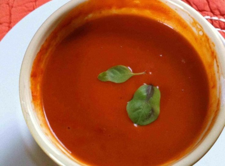 Tomato Bisque -reminds me of Hawaii =)