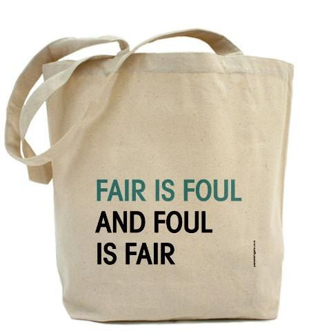 Macbeth fair is foul and foul is fair essay