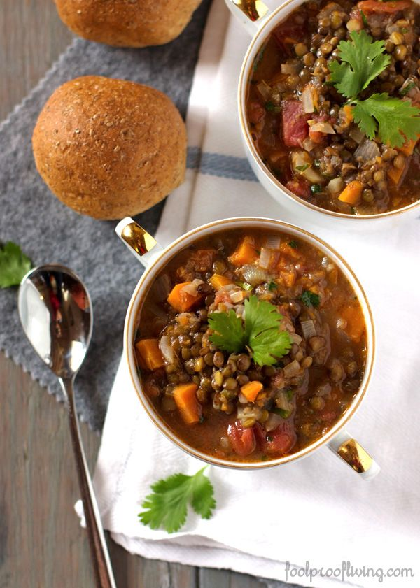 French Lentil Soup | Fool Proof Living