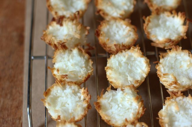 Salted Caramel Coconut Macaroons.. | sugar mama | Pinterest