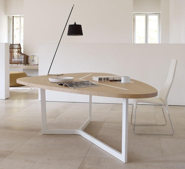 Seven dining table b b italia pinterest - Pinterest kitchen tables ...