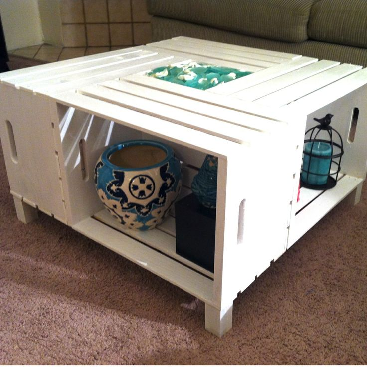 Diy Crate Coffee Table The Image Kid Has It