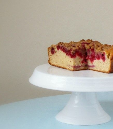 Raspberry Crumb Cake | Desserts & Cakes | Pinterest