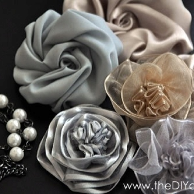 homemade silk flowers