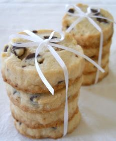Chocolate Chip Shortbread Cookies | Favorite Recipes | Pinterest