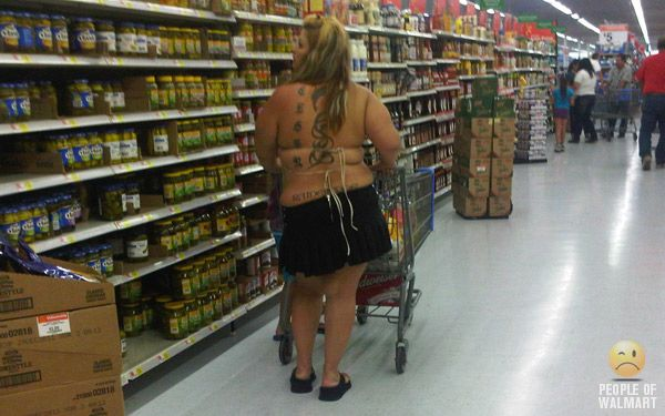 white trash at walmart | Funny Pictures at WalMart Chinese Takeout