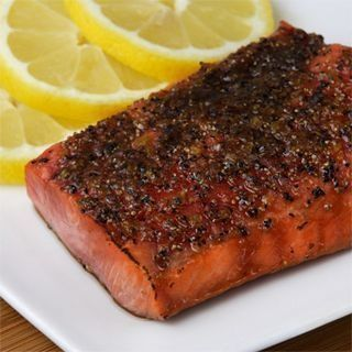 Broiled Sockeye Salmon with Brown Sugar and Citrus Glaze- Food Network ...