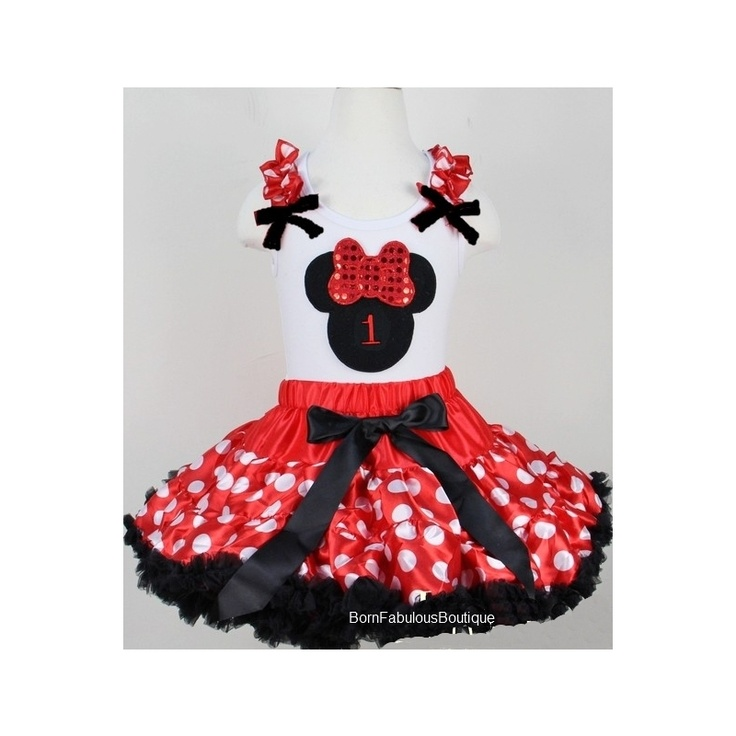 Minnie mouse birthday outfit birthday pinterest