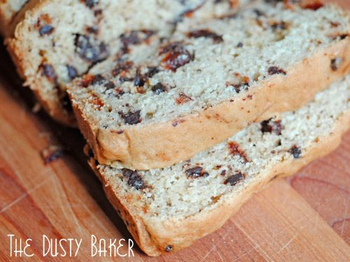 Gluten-Free Chocolate Cherry Bread – Baked with Love | The Dusty ...