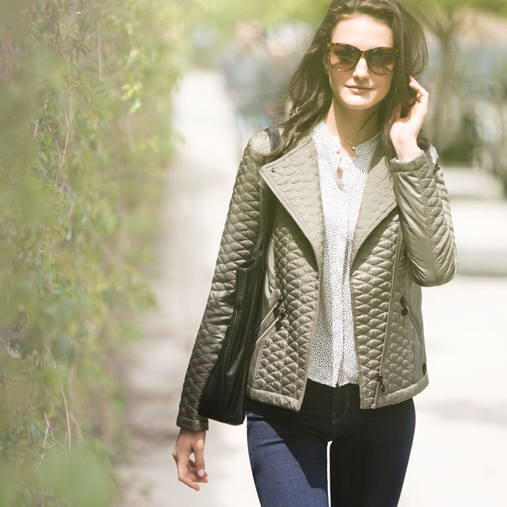 Light jackets for lingering spring breezes.