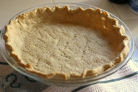... extra pie crust no big freeze it and extra easy whole grain pie crust