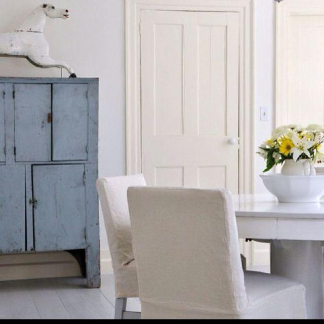 White Walls Cream Trim Home Ideas Pinterest
