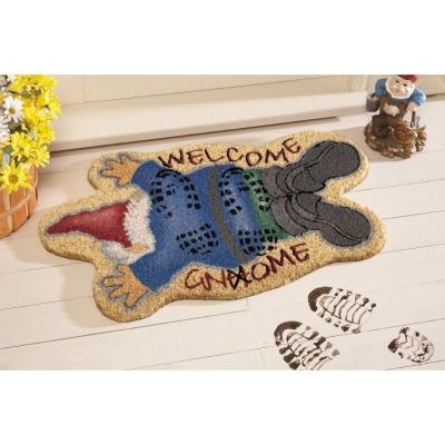 Trampled Gnome Front Door Coco Mat