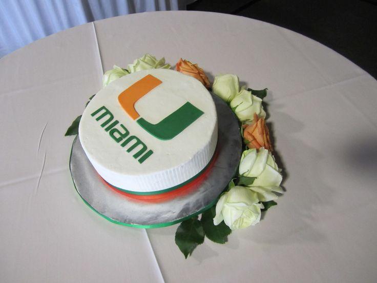 university of miami cake