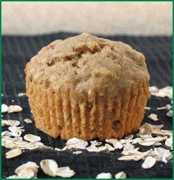 banana oatmeal raisin muffins | Food | Pinterest
