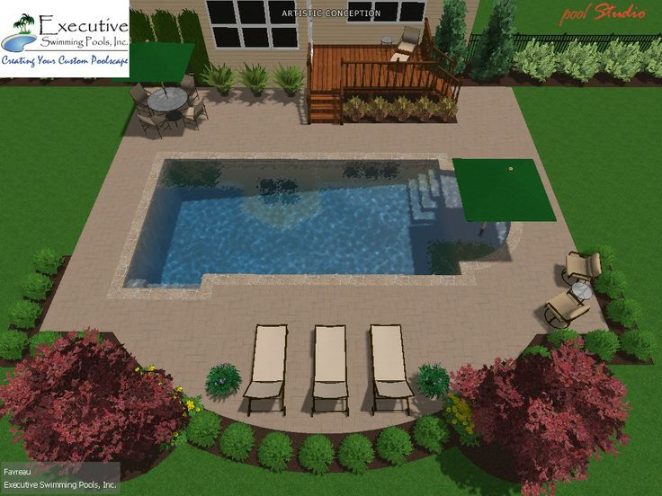 Custom Pool Design   Roman Custom Pool Designs Pinterest