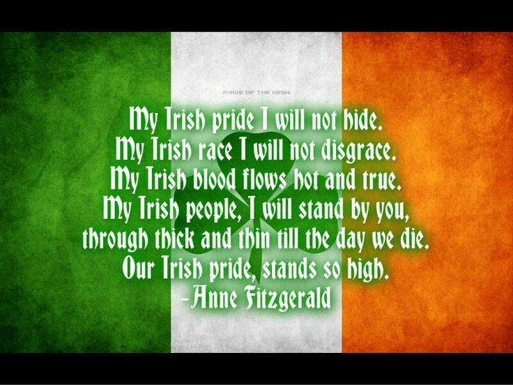 irish pride quotes quotesgram