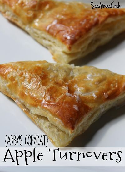 Apple Turnovers (Arby's Copycat) | Desserts | Pinterest