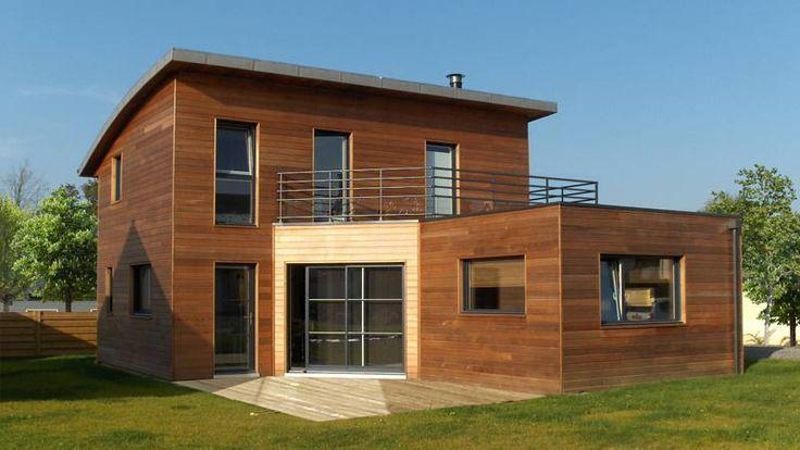 Maisons En Bois Bbc Maison en bois Pinterest # Maison En Bois Bbc