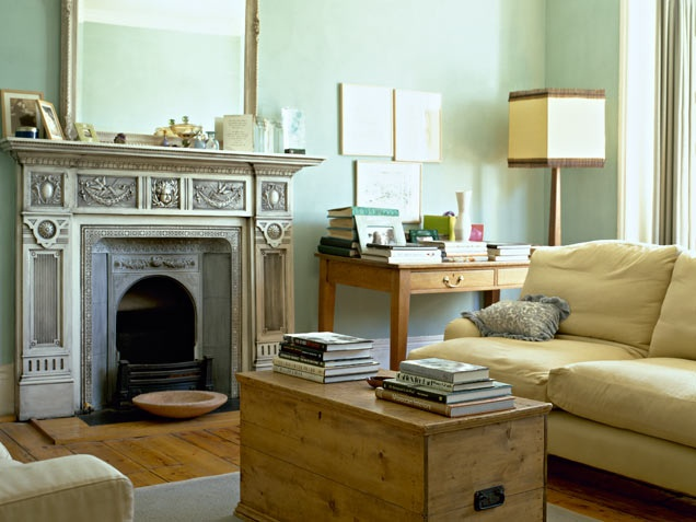 Mint Green Living Room Topanga House Pinterest