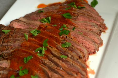 Bloody Mary Flank Steak | Main Dishes | Pinterest