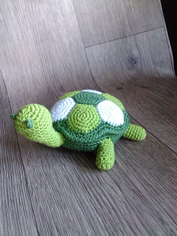 Crochet Patterns Turtle : Turtle amigurumi PDF crochet pattern on Etsy, $4.50