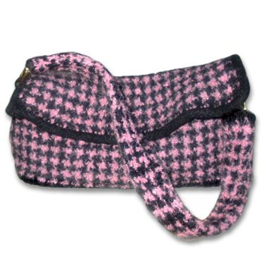 KnitWhits - Knitting Patterns and Kits - Lexi Houndstooth Felted Purse ...