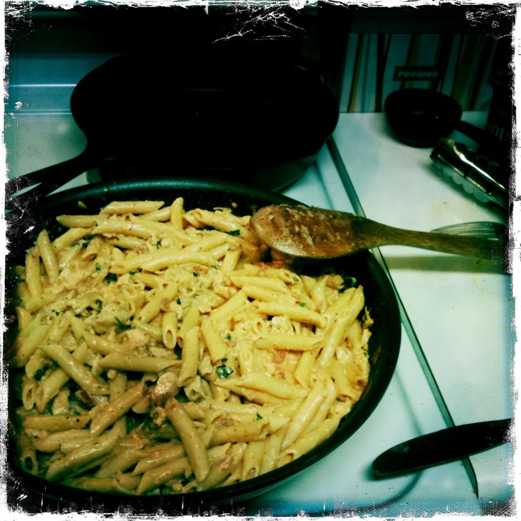 the pioneer woman's penne a la betsy | Food and Drink | Pinterest