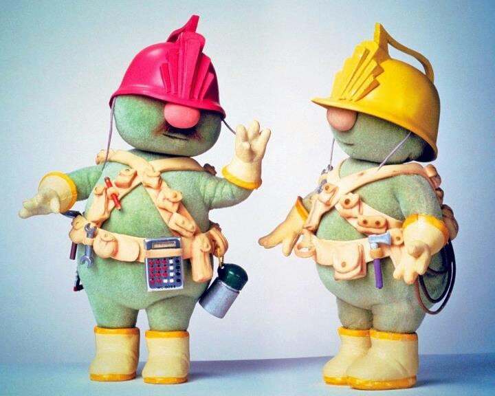 Doozers! | DOWN AT FRAGGLE ROCK | Pinterest