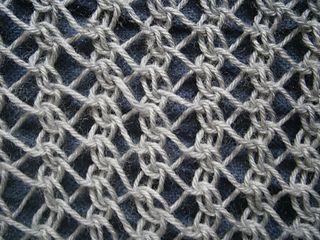Knitting Stitches Mesh : mesh stitch Knitting - Inspiration Pinterest