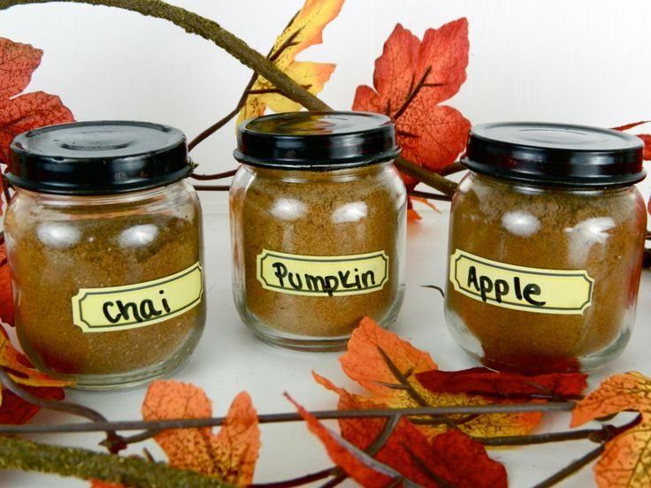 Homemade Spice Blends-Chai Spice, Pumpkin Pie Spice, Apple Pie Spice
