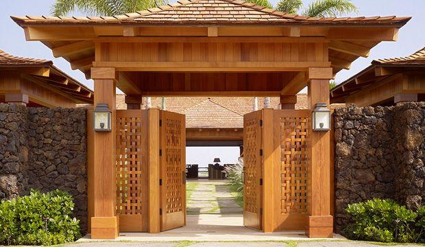 Japanese garden gates japanese house and garden pinterest for Japanese gates pictures