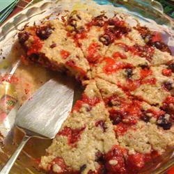 Crustless Cranberry Pie Allrecipes.com